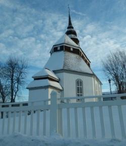 Vemdalen in Schweden - Kirche